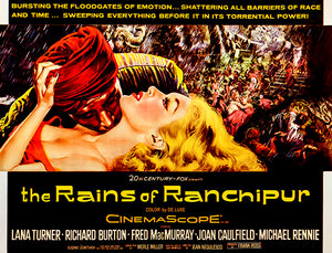 The Rains Of Ranchipur - 1955 - Movie Poster Magnet