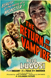 The Return Of The Vampire - 1943 - Movie Poster