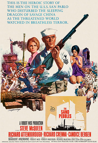 The Sand Pebbles - 1966 - Movie Poster Mug