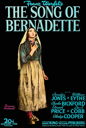 The Song Of Bernadette - 1943 - Movie Poster Magnet