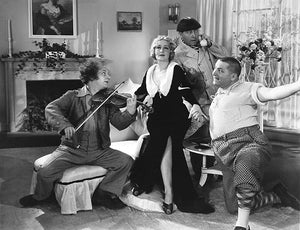 The Three Stooges - Mildred Harris - The Movie Maniacs - Movie Still Poster