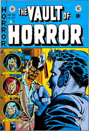 The Vault Of Horror - #32 - August-September 1953 - Comic Book Cover Poster