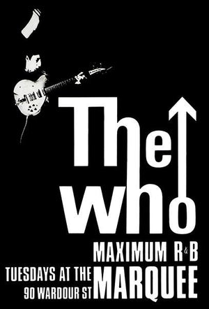 The Who - 1965 - Marquee Club - Concert Poster Magnet