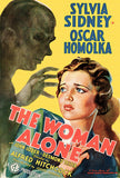 The Woman Alone - 1937 - Movie Poster Magnet