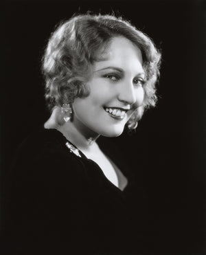 Thelma Todd - Movie Star Portrait Poster