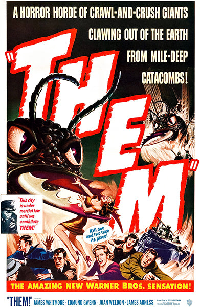 Them - 1954 - Movie Poster