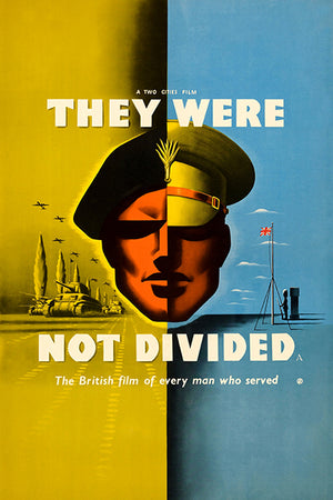 They Were Not Divided - 1950 - Movie Poster