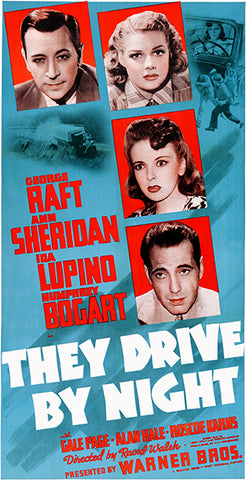 They Drive By Night - 1940 - Movie Poster