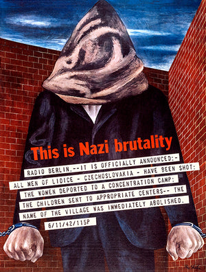 This Is Nazi Brutality - Radio Berlin - 1942 - World War II - Propaganda Magnet