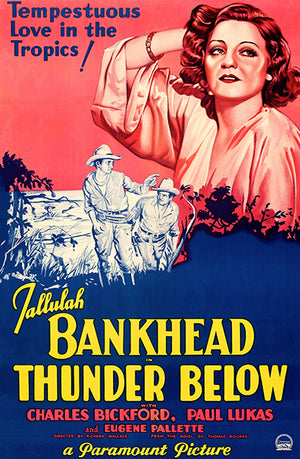 Thunder Below - 1932 - Movie Poster