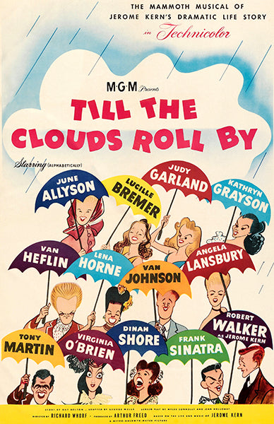 Till The Clouds Roll By - 1946 - Movie Poster