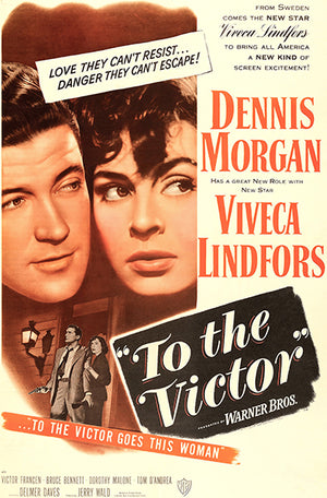 To The Victor - 1948 - Movie Poster