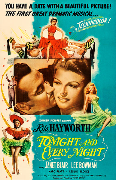 Tonight And Every Night - 1945 - Movie Poster