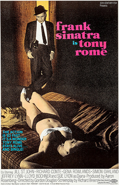 Tony Rome - 1967 - Movie Poster