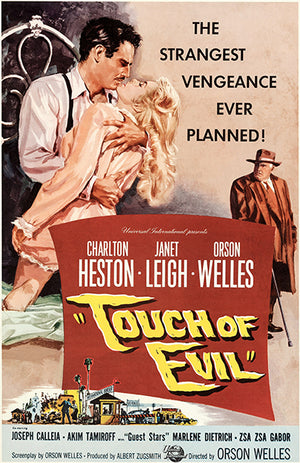 Touch Of Evil - 1958 - Movie Poster