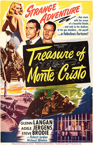 Treasure Of Monte Cristo - 1949 - Movie Poster