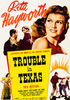 Trouble In Texas - 1937 - Movie Poster Magnet