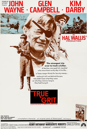 True Grit - 1969 - Movie Poster Magnet