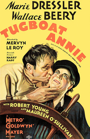 Tugboat Annie - 1933 - Movie Poster Magnet