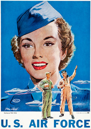 US Air Force - 1951 - Recruitment Poster