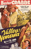 Valley Of Vengeance - 1944 - Movie Poster