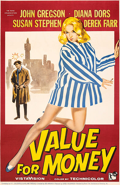 Value For Money - 1957 - Movie Poster