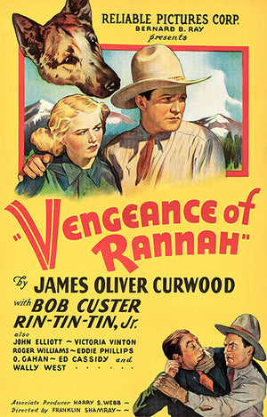 Vengeance Of Rannah - 1936 - Movie Poster