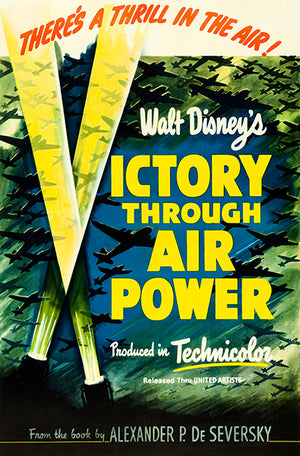 Victory Through Air Power - 1943 - Movie Poster Magnet