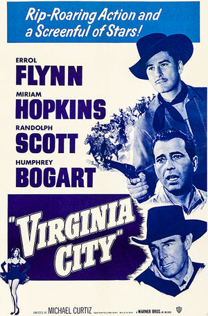 Virginia City - 1951 - Movie Poster Magnet