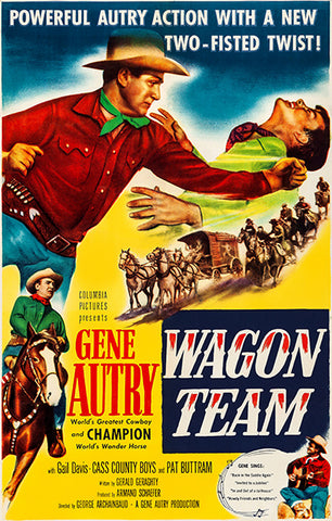 Wagon Team - 1952 - Movie Poster
