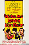 Wake Me When It's Over - 1960 - Movie Poster