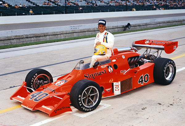 Wally Dallenbach - Indy 500 - Patrick Eagle - 1973 - Photo Poster