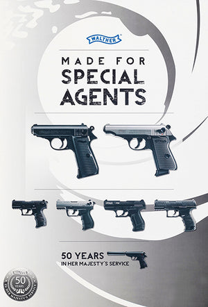 Walther - Made For Special Agents - 2012 - Promotional Advertising Magnet