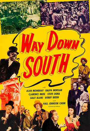 Way Down South - 1939 - Movie Poster