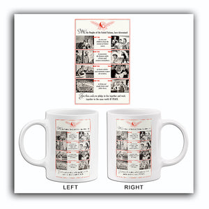We, The People Of The United Nations - 1942 - World War II - Propaganda Mug