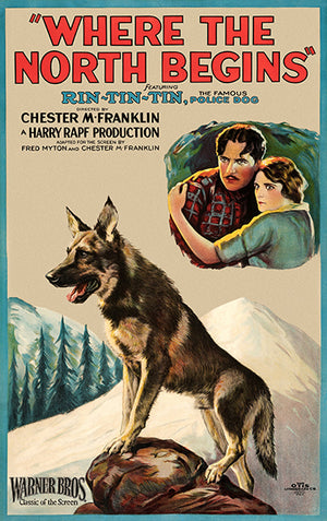 Where The North Begins - 1923 - Movie Poster