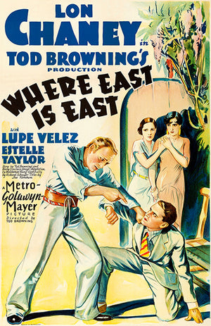 Where East Is East - 1929 - Movie Poster
