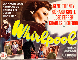 Whirlpool - 1949 - Movie Poster