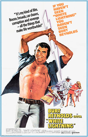 White Lightning - 1973 - Movie Poster