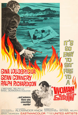 Woman Of Straw - 1964 - Movie Poster Magnet