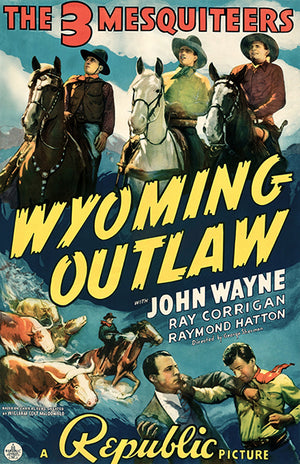 Wyoming Outlaw - 1939 - Movie Poster