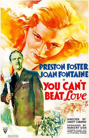 You Can't Beat Love - 1937 - Movie Poster
