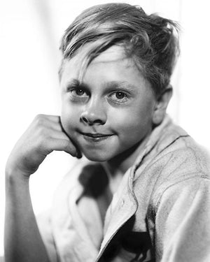 Young Mickey Rooney - Movie Star Portrait Magnet