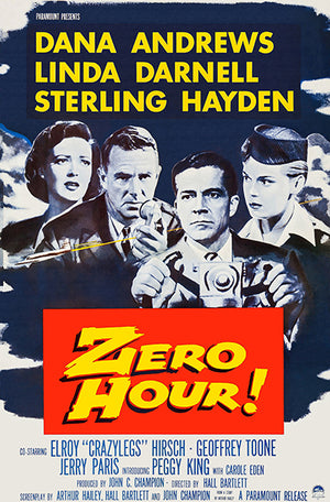 Zero Hour! - 1957 - Movie Poster
