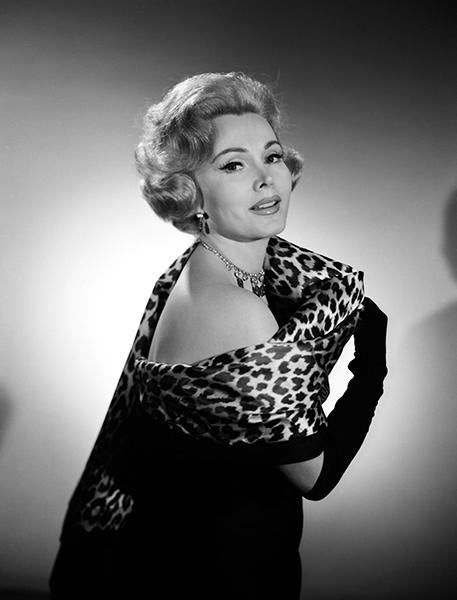 Zsa Zsa Gabor - Movie Star Portrait Magnet