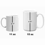 NASA - Mercury - Gemini - Apollo - Spacecraft Comparison - 1964 - Illustration Mug