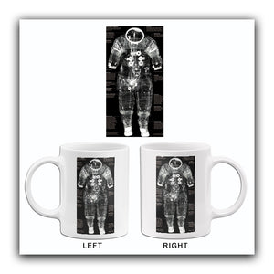 Apollo 14 Space-Suit - Moon Mission - 1971 - X-Ray Photo Mug