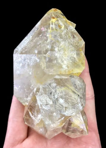 Herkimer Diamond Quartz Crystal Cluster Authentic from New York USA H694