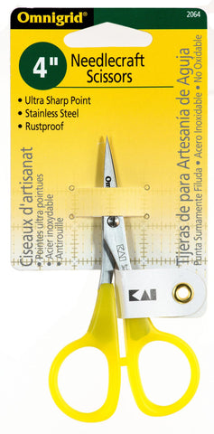 "Omnigrid 4"" Needlework Scissors"