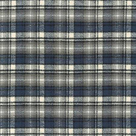 Mammoth Flannel in Ash Plaid